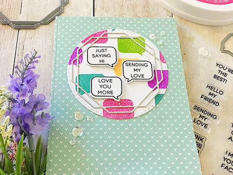Whatca Sayin', Love you More! |Solid Stamping with Catherine Pooler Inks