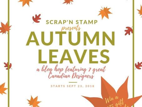 SNS Autumn Leaves Blog Hop With MFT