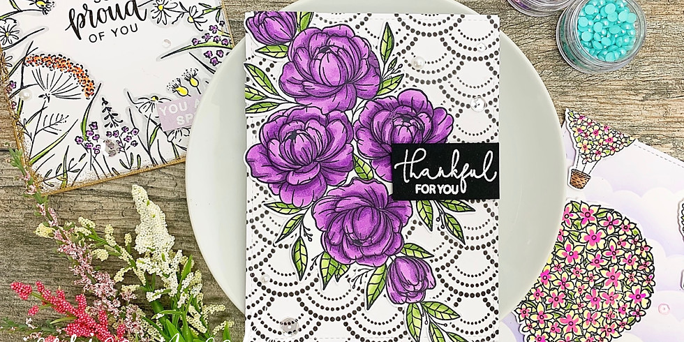 Floral Frenzy Card Making Workshop