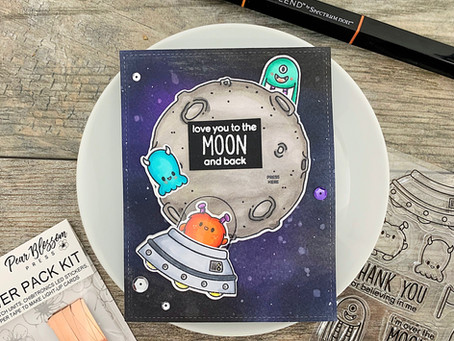 Love You To The Moon! |Heffy Doodle + Pear Blossom Press Power Pack Blog Hop