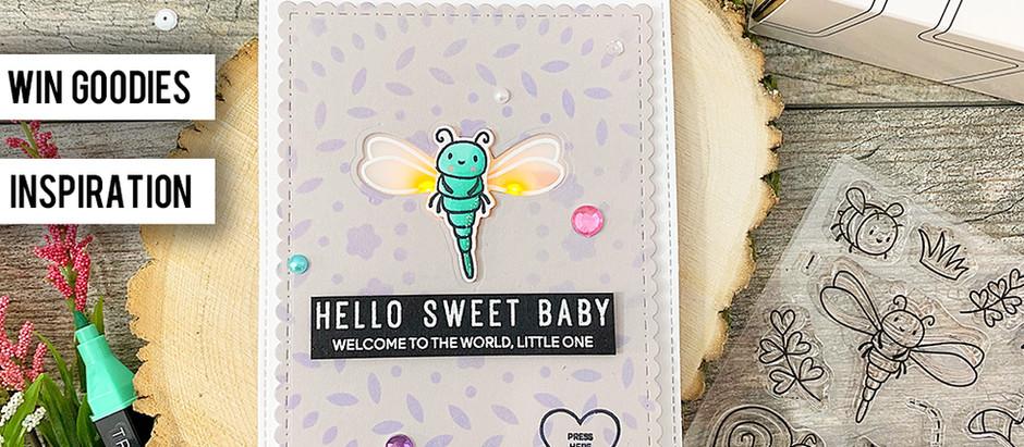 Heffy Doodle + Chibitronics Collab Blog Hop|Hello Sweet Baby