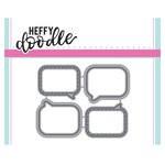 Heffy Doodle - Cutting Dies - Whatcha Sayin'