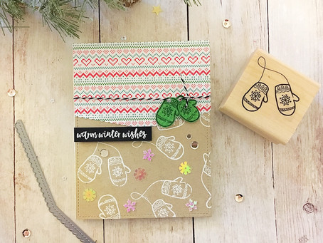 Let the Christmas Card season begin with Simply Stamps