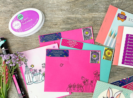3 Ways To Use Lovable Labels In The Craft Room + Giveaway