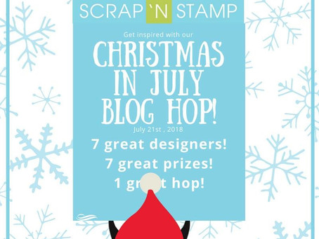 Christmas in July with SNS|Combining Stamp Sets with MFT & Lawn Fawn