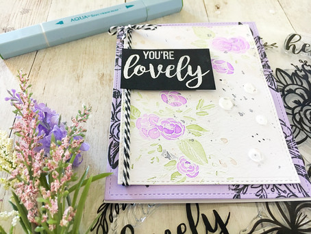 You're Lovely!|Artwaves & Pin it Canada Classes