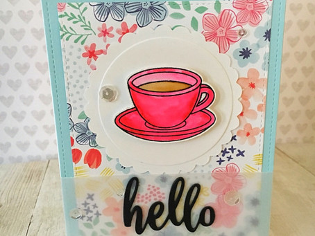 SSS Wednesday Challenge With Coffee and Florals