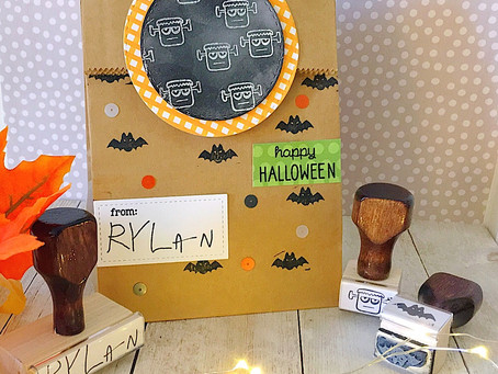 Spooktacular Halloween Treat Bags With Simply Stamps