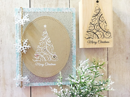 Merry Christmas Swirls with Simply Stamps