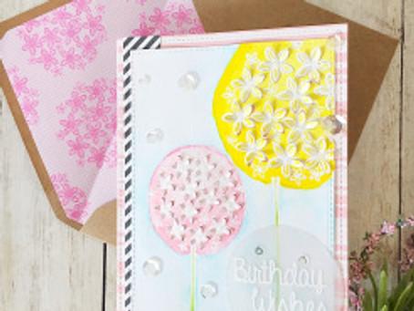 July HSN *sneak peak alert*- Stamps by Chloe 3D Flowers & Flower Border Builder