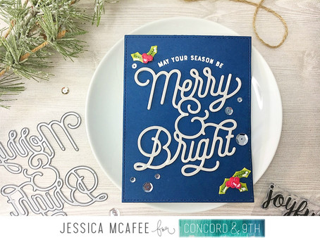 C9 Feature Friday|Merry & Bright Holiday Cheer Tags!