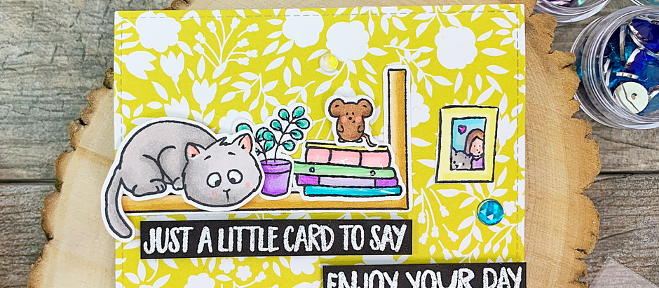 Just a Little Card to Say… |Gerda Steiner Guest Designer
