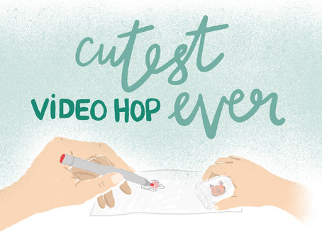Cutest Video Hop Ever + Lawn Fawn, Catherine Pooler & Ranger