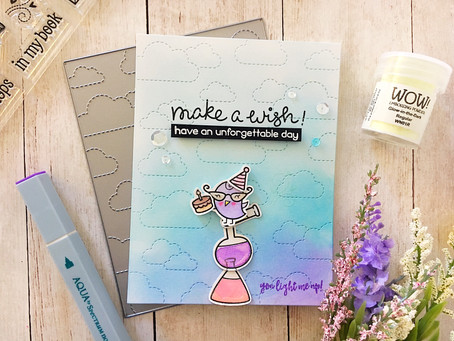 """Make A Wish & SSS Wednesday Challenge """"Anything Goes"""""""