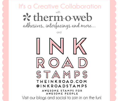 Bun Intended |Ink Road Stamps + Therm O Web Collab