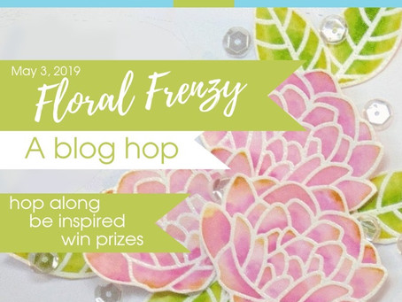 Scrap 'N Stamp Floral Frenzy Blog Hop|Concord & 9th Hello Lovely