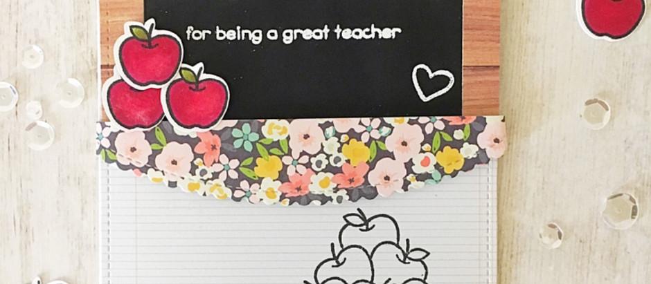 A Bushel of Thanks Because Teachers Rock & SSS Wednesday Challenge