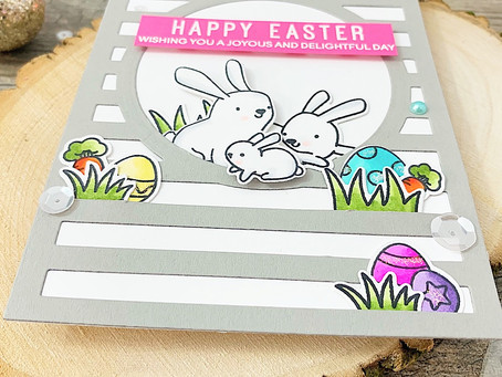 Happy Easter Honey Bunny!  Heffy Doodle TriBlend Coloring