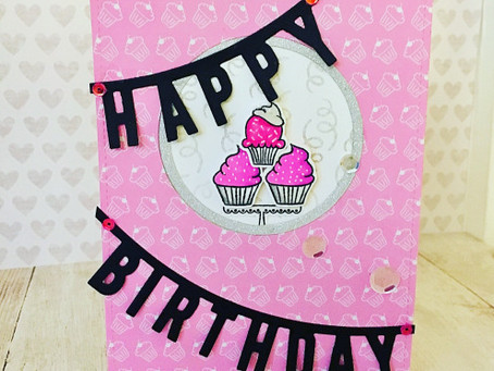 How to Make die cut stamps with CC's Sara Signature Birthday Party & SSS Wednesday Challenge