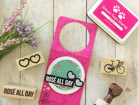A little Rosé All Day with Simply Stamps