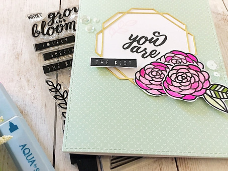 Ink Road Stamps Feature Friday: Bloom Where You Are Planted|SSS Monday Challenge
