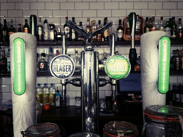 Irish, British and Continental beers and ciders, always served at the perfect temperature.