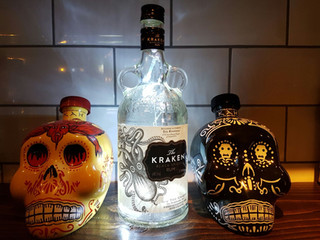 Spirits available to suit any taste