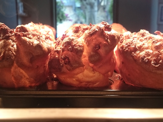 Yorkshire puddings ready for Sunday lunch!