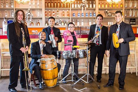 SALSA, Chocolate Riveros & Bus Latino Band