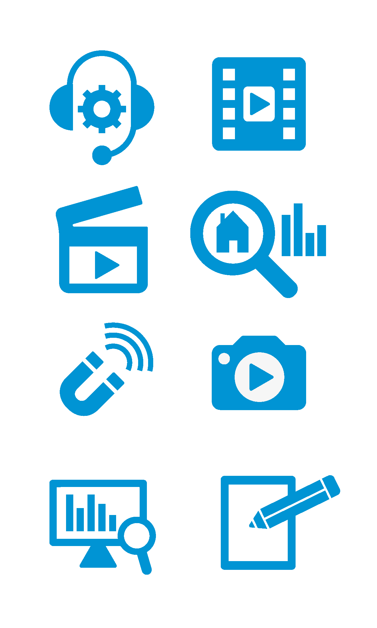 Unissu Newsletter Icons