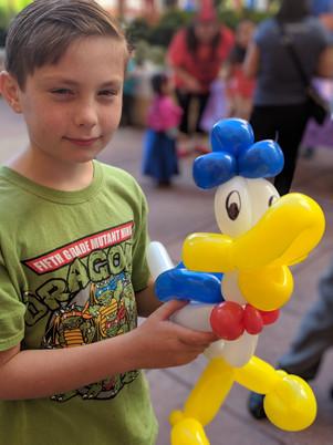 balloon duck