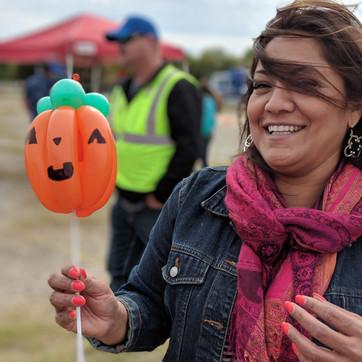 balloon pumpkin