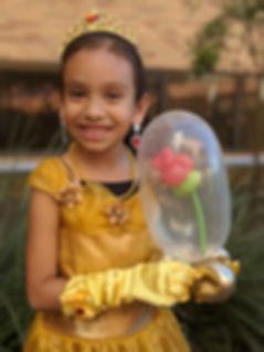 Princess Balloon | Beauty Rose | Balloon Rose | Princess