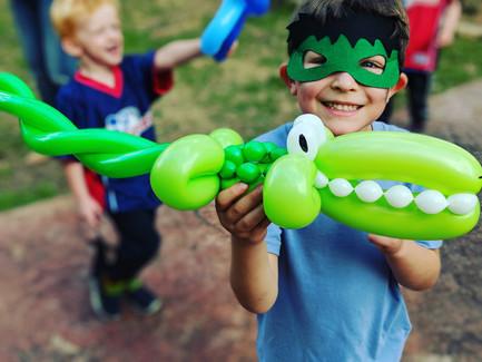 balloon crocidile