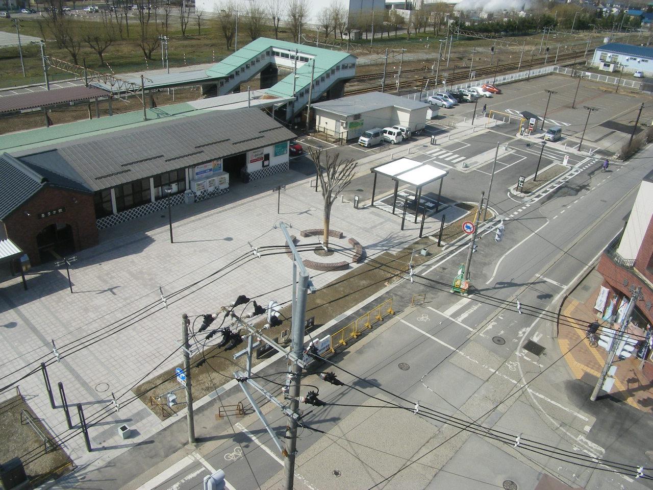 喜多方駅前 広場整備 (2)