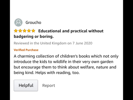Amazon Customer feedback
