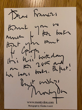Note from Monty Don