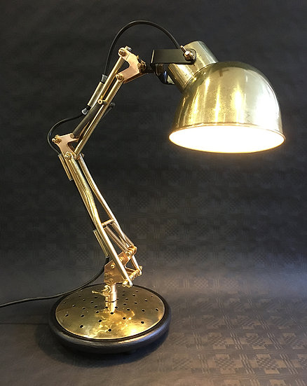 Handmade Brass Angle Poise Lamp