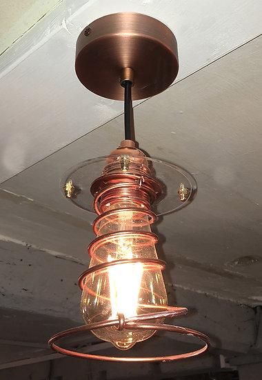 Single Spring Ceiling Light