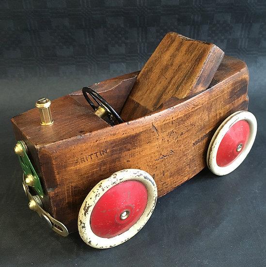 Vintage Wood Plane Car