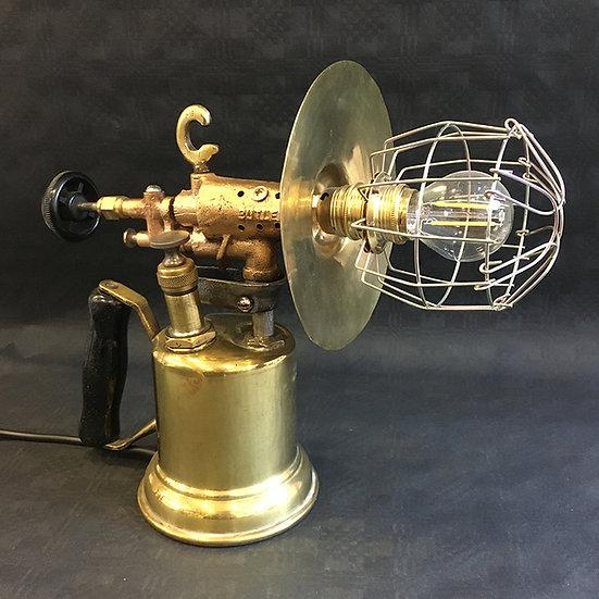 Small Vintage Phosphor Bronze Blowlamp