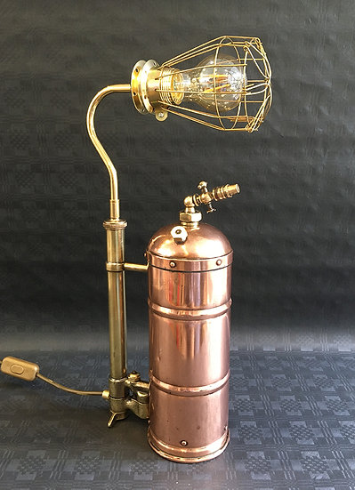 Medium Vintage Copper and Brass Sprayer