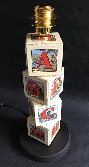 ABCD Play Bricks Lamp