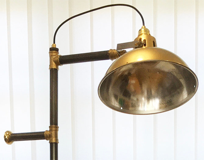 Large Propellor Lamp