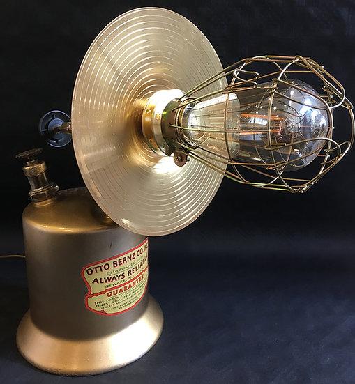 Large Vintage Phosphor Bronze Blowlamp