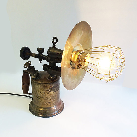 Vintage Phosphor Bronze Blowlamp