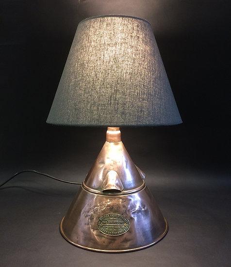 Swiftsure copper lamp