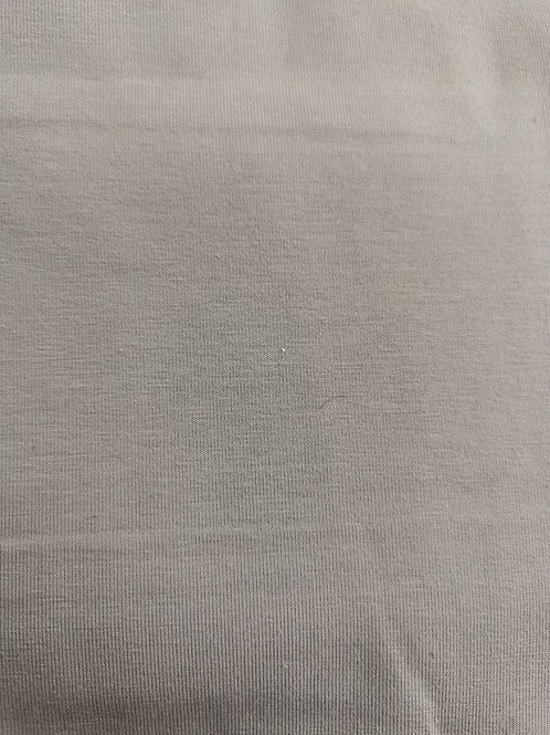 Grey cotton jersey remnant. 26 inches by 60 inch wide. Grey