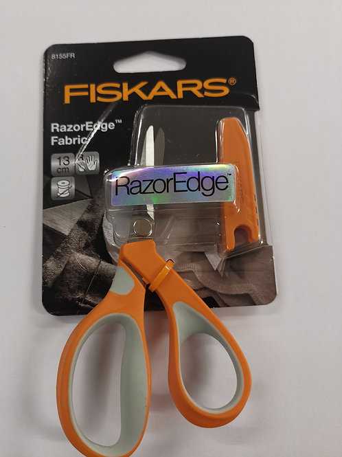 Fiskars 13cm razor Edge fabric scissors