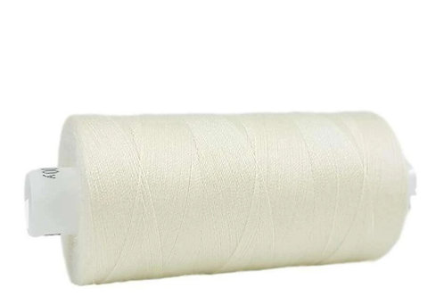 Moon Polyester Sewing Thread 1000yds - cream